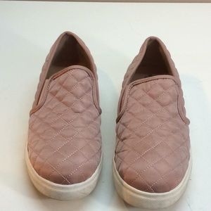 Mossimo Light Pink Quilted SlipOn Sneakers
